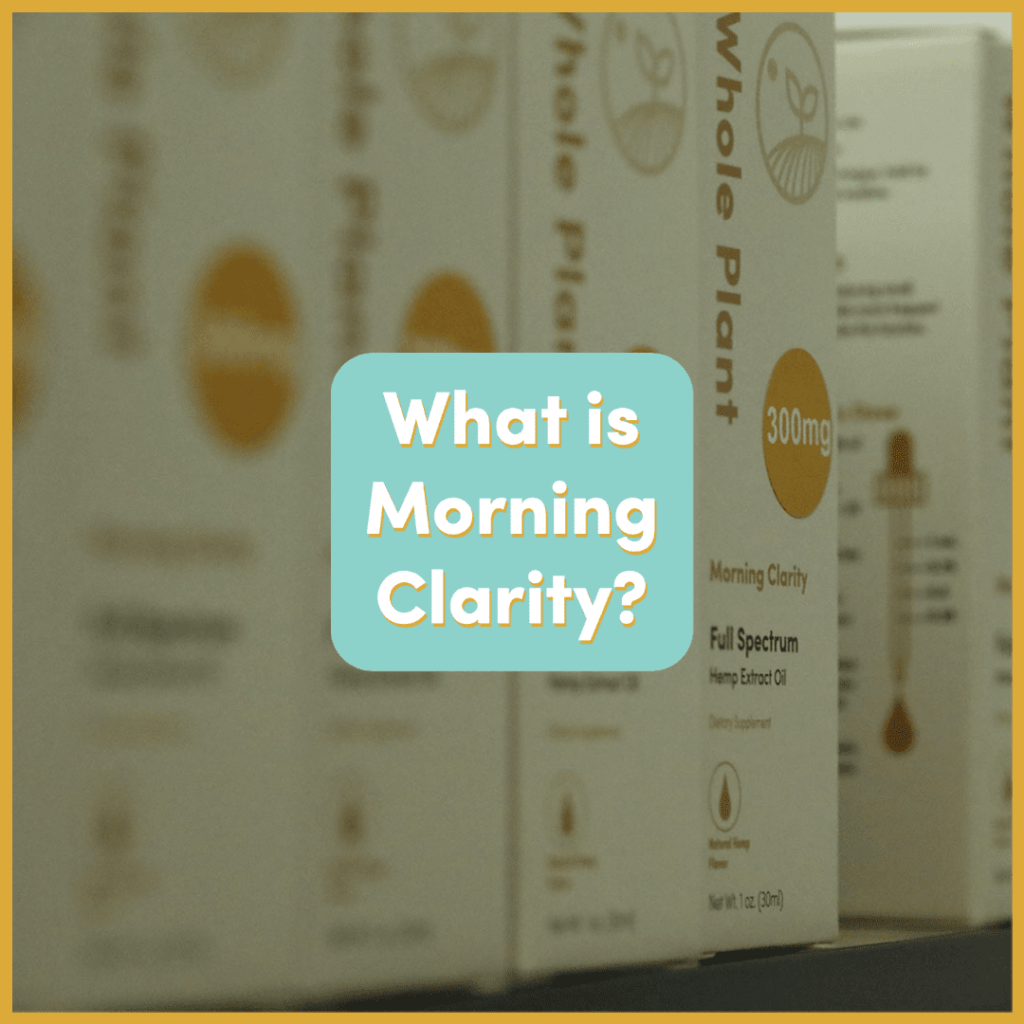 What is Morning Clarity CBD?