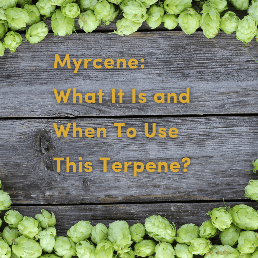 Myrcene: What it is and when to use this terpene