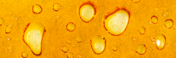 A picture of hemp extract closeup